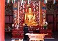 Korea-Gangwon-Woljeongsa Buddha 1730-07.JPG