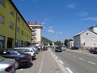 Korenica Village in Lika-Senj, Croatia