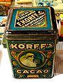Korff's Cacao tin, 2,5Kilo Netto, pic5.JPG
