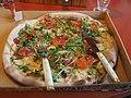 Kotipizza salmon pizza in Turku.jpg