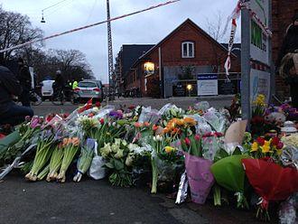 2015 Copenhagen shootings - Memorial at Krudttønden