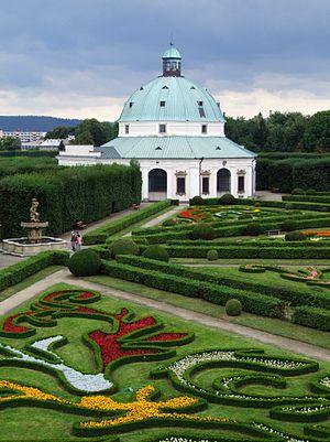 Kroměříž Castle - Baroque flower garden
