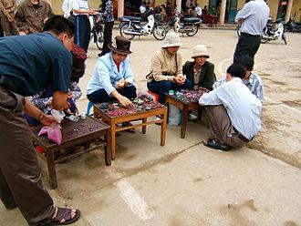 Yên Bái Province - Gem market in Lục Yên District, Yên Bái Province