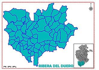 Ribera del Duero (comarca) - Image: LA RIBERA DEL DUERO