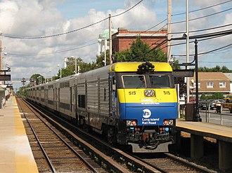 EMD DE30AC and DM30AC - Image: LIRR EMD DM30AC 515 pushing Train 8054