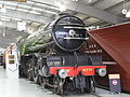 LNER V2 2-6-2 4771 'Green Arrow' (1936) & NER snow plough, Locomotion Shildon 29.06.2009 P6290052 (9989613073).jpg