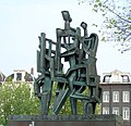 La Demeure Humaine Ossip Zadkine Westeinde DNB Amsterdam.JPG