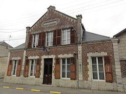 La Malmaison (Aisne) mairie.JPG