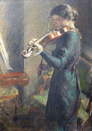 François Guiguet - The Violinist (1914)
