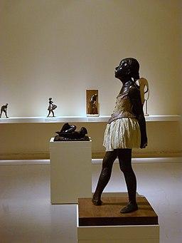 La petita ballarina de catorze anys de Degas a l'Institut Valencià d'Art Modern