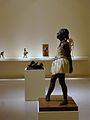 La petita ballarina de catorze anys de Degas a l'Institut Valencià d'Art Modern.JPG