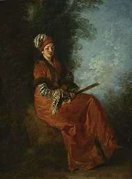 La rêveuse - Watteau - Art Institute of Chicago.jpg