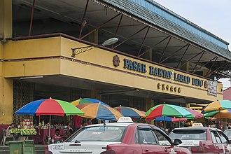 Lahad Datu - Lahad Datu Central Market.