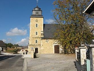 Lahourcade - Lahourcade church