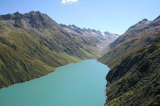 Rein da Curnera river in Switzerland