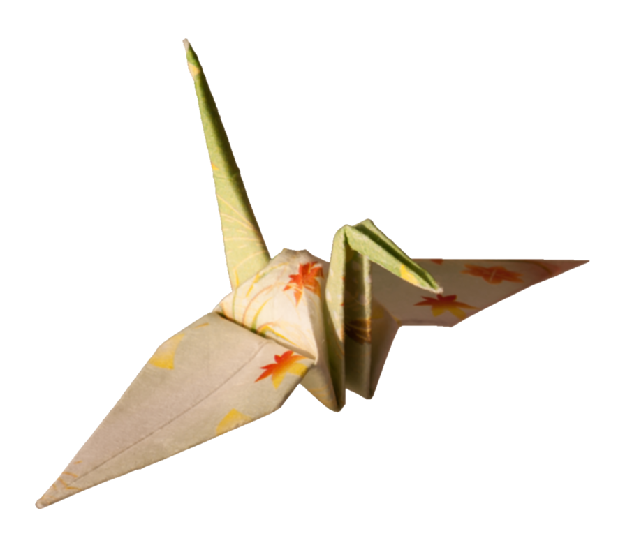 filelaitche origami cranes the beige one rightpng