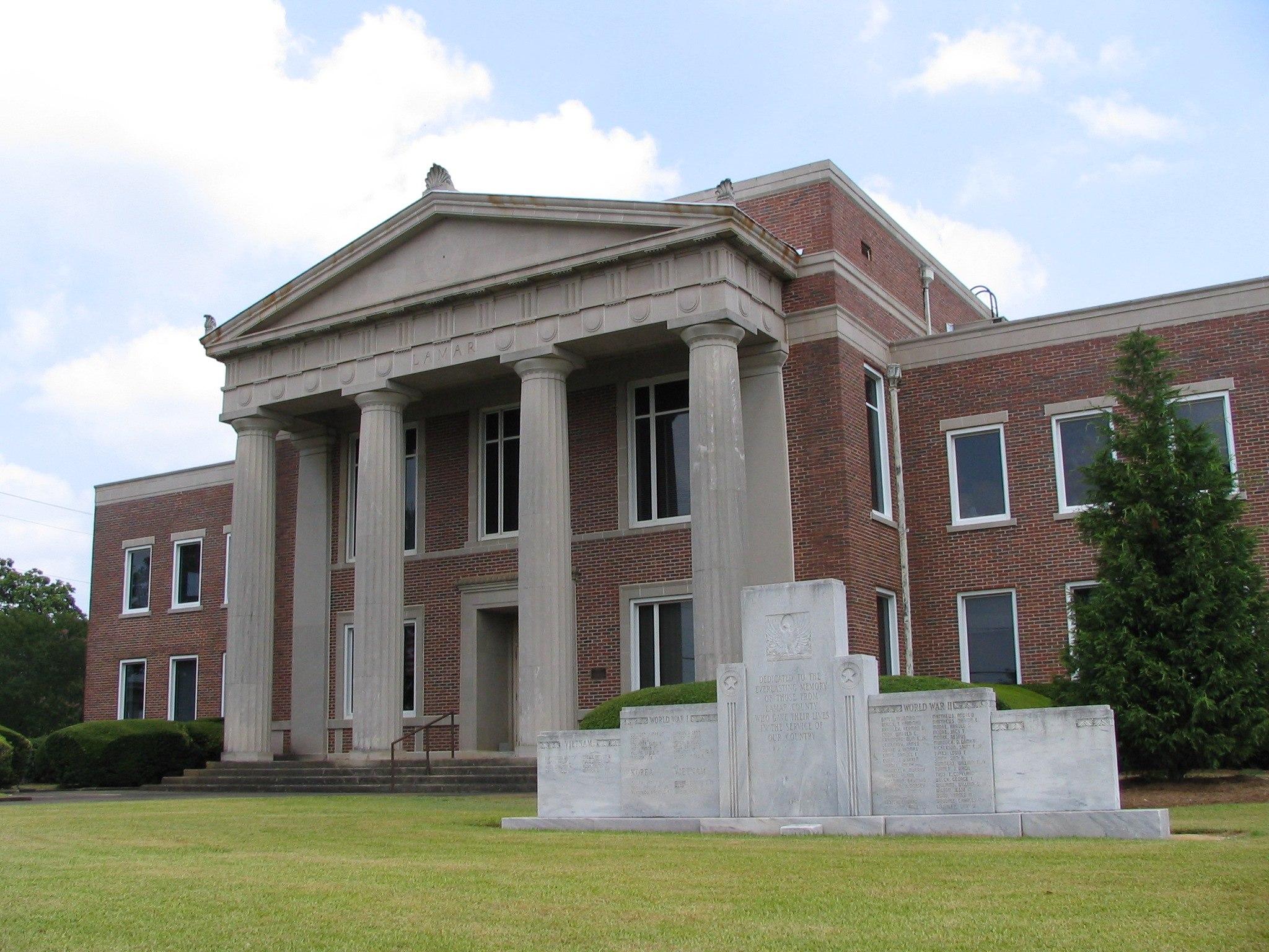 Lamar County Georgia Courthouse