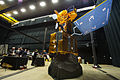 Land Sat satellite at the Asteroid Grand Challenge anniversary event 2015.jpg