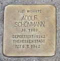 Landshut Stolperstein Schönmann, Adolf.jpg