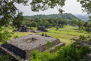 Ratu Boko - Candi Pembakaran, possibly a crematorium.