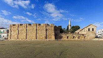 Larnaca Castle - Image: Larnaca 01 2017 img 01 Larnaca Fort
