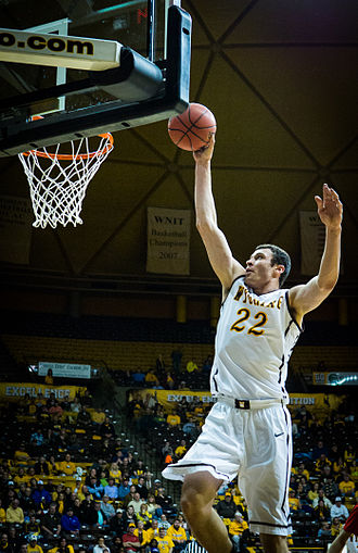 Larry Nance Jr. - Nance going up for a dunk in 2014