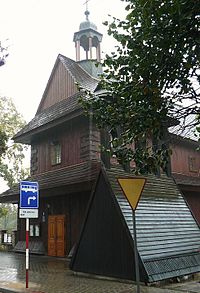 Lask sw.Ducha church PL.JPG