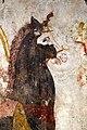 Lastra dipinta con cavaliere armato e corazza a dischi di tipo iberico, 350-300 ac ca., da tomba 58 della necropoli di andriuolo a paestum (man di paestum) 03.jpg