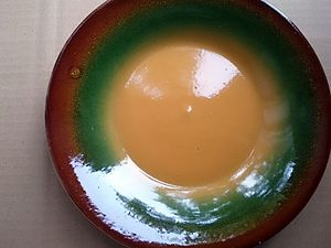 Latvian pottery - Image: Latvian plate