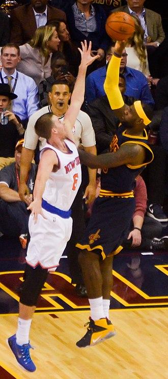 Travis Wear - Wear defending LeBron James in 2014