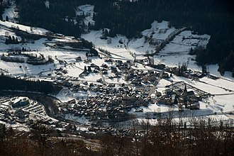 Bagnes - Le Châble village