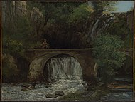 Le Grand Pont by Gustave Courbet 1864.jpeg