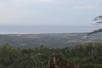 Sultan Kudarat - The Moro Gulf seen from Lebak