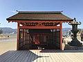 Left Kadomarodo Shrine in Itsukushima Shrine.jpg