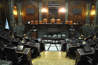 Buenos Aires City Legislature - The legislative chamber.