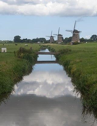 Leidschendam, the Molendriegang (Three Windmills)