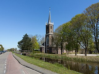 Leimuiden Place in South Holland, Netherlands
