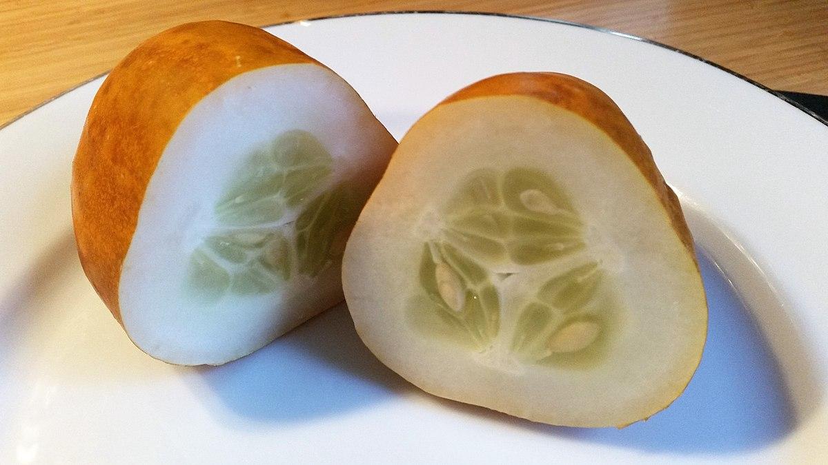 File:Lemon cucumber - London - 4.jpg - Wikimedia Commons