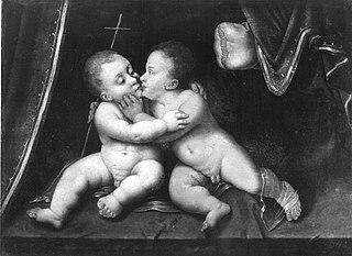 Holy Infants Kissing