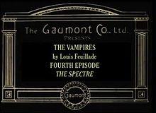 Episode 4: The Spectre (1916)