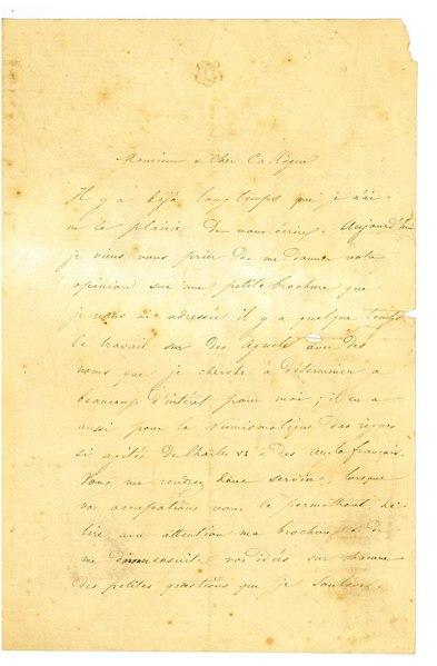 File:Lettre de Barthélemy LeCarpentier à Anatole de Barthélemy du 25 février 1856.pdf
