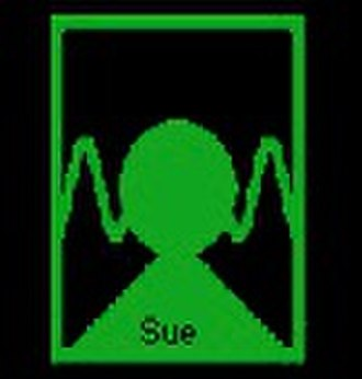 William M. Fields - Image: Lexigram Sue