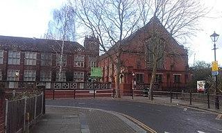 Leytonstone School school on Colworth Road in Leytonstone, London