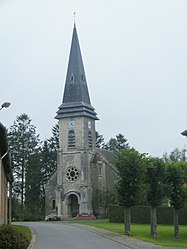 The church in Liéramont
