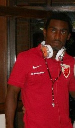 Lee Addy - Addy with Red Star Belgrade in 2010