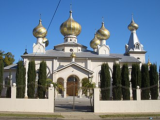 Lidcombe - Russian Old Orthodox Church