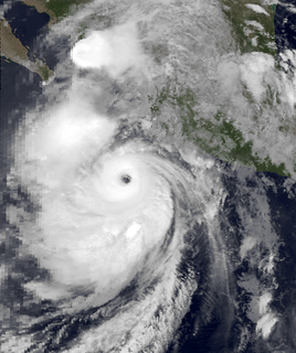 Hurricane Lidia (1993) Category 4 Pacific hurricane in 1993