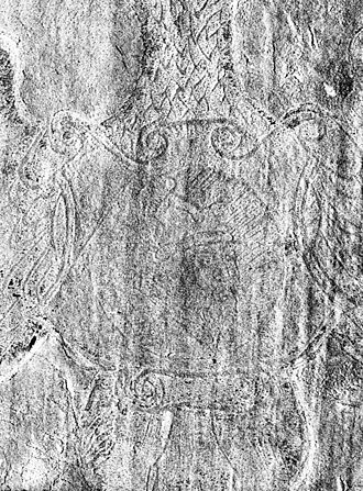 Ivan the Terrible - The only authentic lifetime portrait of Ivan IV, embossed on the binding of the first-printed Apostle of 1564