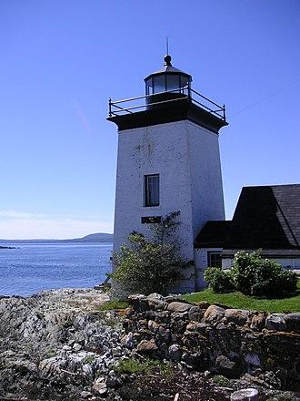 Waldo County, Maine - Image: Lighthouse Islesboro ME