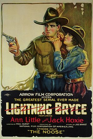 Jack Hoxie - Jack Hoxie in his first starring role in 1919's Lightning Bryce with Ann Little.
